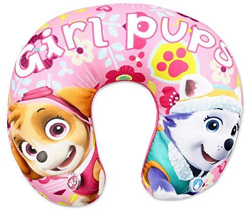Mgs33 Nickelodeon Mädchen Paw Patrol Kissen für Kinder Reisekissen Urlaub Auto Paw Patrol