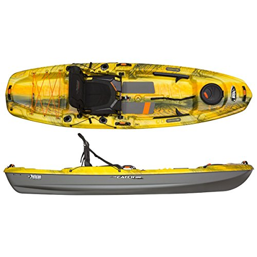 Pelican Sport The Catch 100 Kayak, Halo - Magnetic Grey