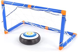 Electric Ice Hockey Toys, Hovering Hockey Toys Set Indoor Games Outdoor Sports Ball Game for Boy Girl Best Gift(Suspension...
