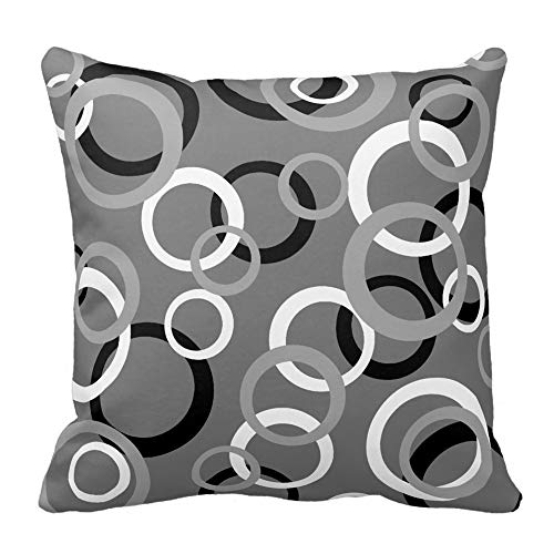 Leedy Beautiful Covers, cuscino stile di arredamento per salotto divano auto camera da letto con cerniera invisibile, 18x 18pollici, L, medium