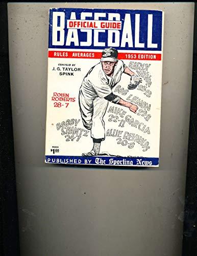 1953 Robin Roberts Phillies Baseball Guide TSN bxbg