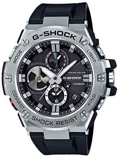 [カシオ]G-SHOCK G-ショック G-STEEL Gスチール スマートフォンリンクモデル GST-B100-1A 腕時計 メンズ [並行輸入品]
