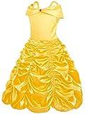 Zoom IMG-2 amzbarley bambina principessa belle vestito