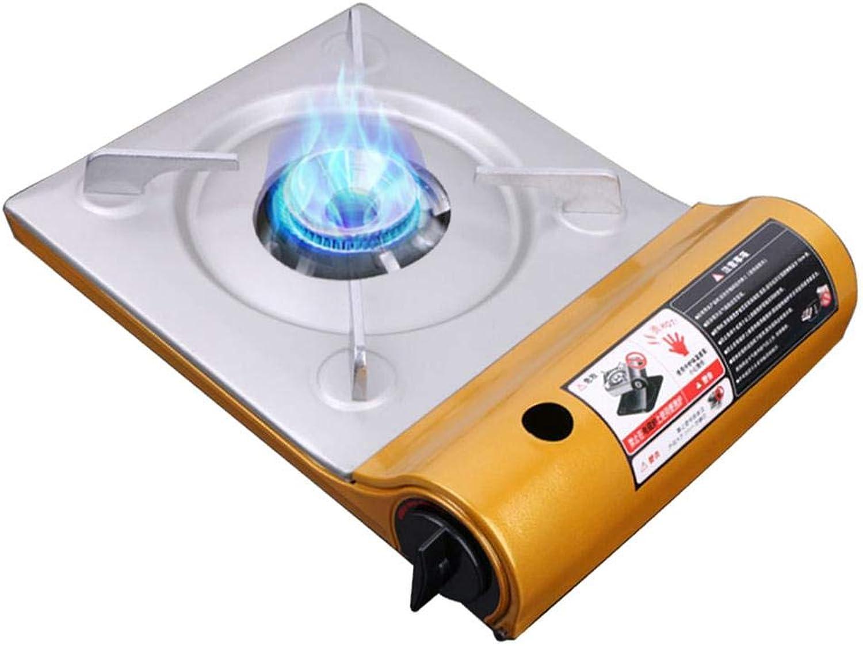 Portable Camping Gas Stove,Ultra Thin Outdoor Camping Backpacking Gas Butane Stove Burner Durable Iron Compact Stove