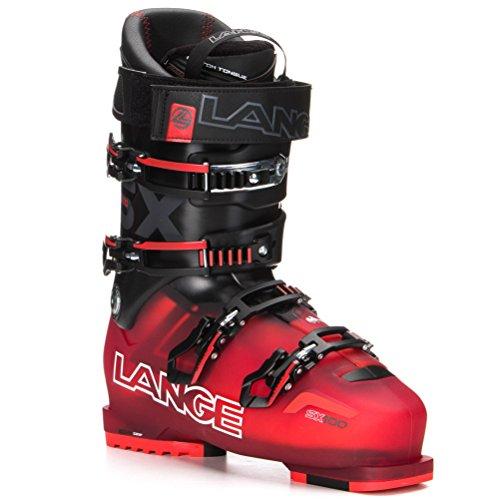 LANGE–Botas de esquí SX 100TR Red Black–Adulto