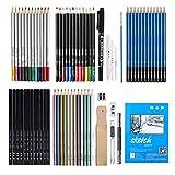 Harilla 71pc Charcoal Pencil Set Artista Blending Kid Paintng Craft Art Sketching Dibujo