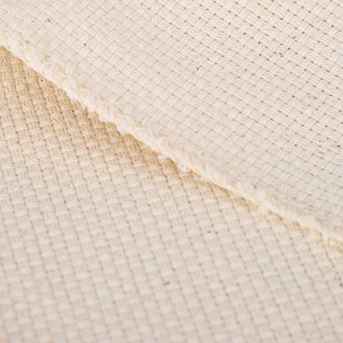 Emoshayoga Paño de bordado de lana gruesa, 6 piezas, accesorios de punto de cruz, materiales de...