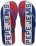 Pepe Jeans Whale TIMY, Sandalia. Hombre, 541french Blue, 43 EU