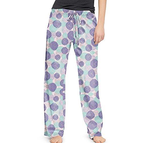 HANES Pom Pom Women's Sleep Pants - 26559 - Pom Pom, Large