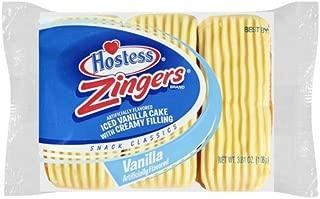 Hostess Vanilla Zingers 3.81 Oz, Pack of 36
