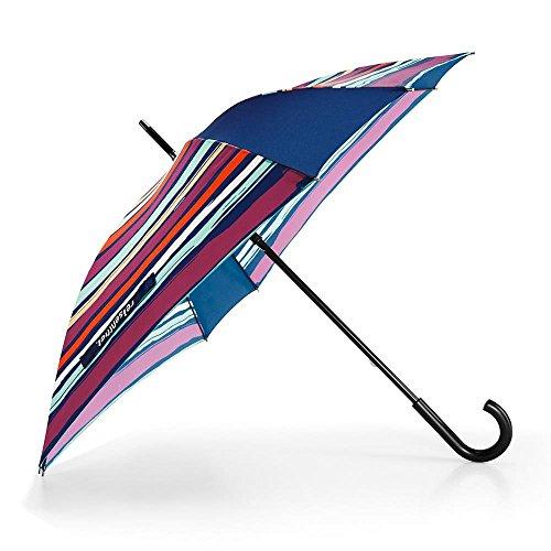 Reisenthel Umbrella Ombrello Pieghevole, 90 cm, Multicolore (Artist Stripes)