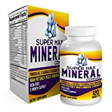2-Month Multi Mineral Supplement (Iron Free) with 72 Trace Minerals -...