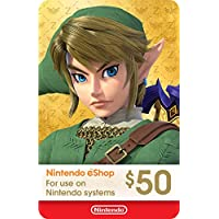 $50 Nintendo eShop Gift Card (Email Delivery)