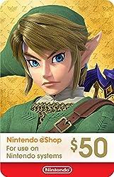 top rated $ 50 Nintendo eShop Gift Card [Digital Code] 2021