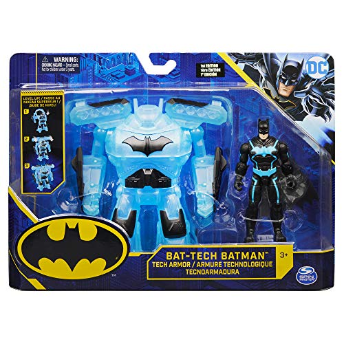 Bizak- DC Comics Batman figura 10 cm con armadura Bat Tech (61927829)