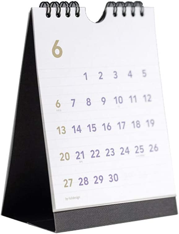 HJHJ Portable Desk Calendar Wall Don't miss Our shop OFFers the best service the campaign 2021 Calenda