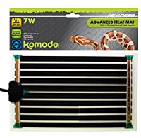 Ideal for providing gentle heat for species that don't need high temperatures Great for providing cooler night-time temperatures Heat mats emit no light so ideal for vivariums in bedrooms Available in a wide range of sizes suitable for most enclosure...