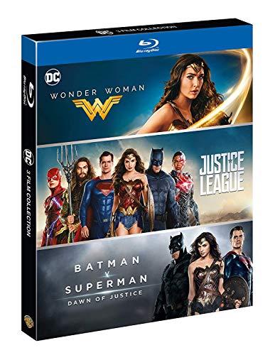 Wonder Woman, Jusrtice League, Batman VS Superman - (3 Film Blu-Ray) - Edizione Italiana