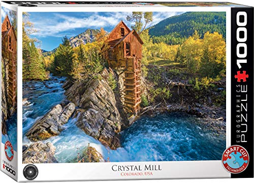 EuroGraphics 6000-5473 Crystal Mill 1000Piece Puzzle