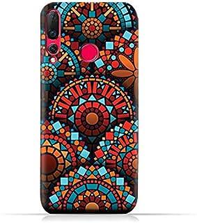 AMC Design Huawei Nova 4 TPU Silicone Protective Soft Case with Geometrical Mandalas Pattern