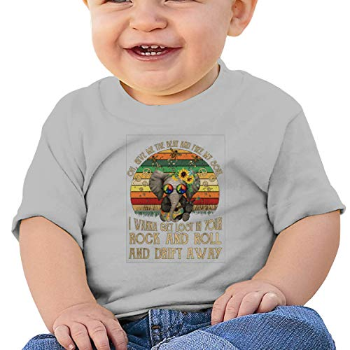 Give Me The Beat and Free My Soul Rock and Roll Baby T-Shirt,Baby T Shirts 6-24 Months