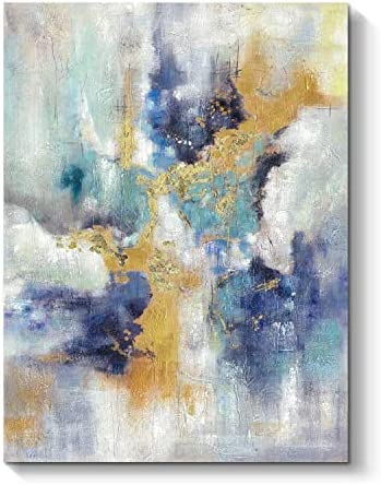 Abstract Canvas Painting Artwork Picture Modern Hand Painted Wall Art for Bedrooms 40 H x 30 product image