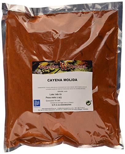 ESPECIAS PEDROZA Cayena Molida - Paquete De 5 X 1000 Gr - Total: 5000 Gr