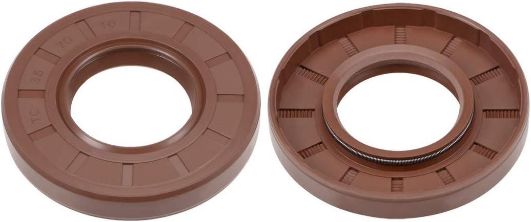 YeVhear Oil Now on sale Seal Max 48% OFF 35 mm Internal OD Diameter 10 Thick Fl 70