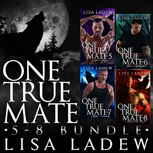 One True Mate Series Bundle, Books 5-8 audiobook cover art