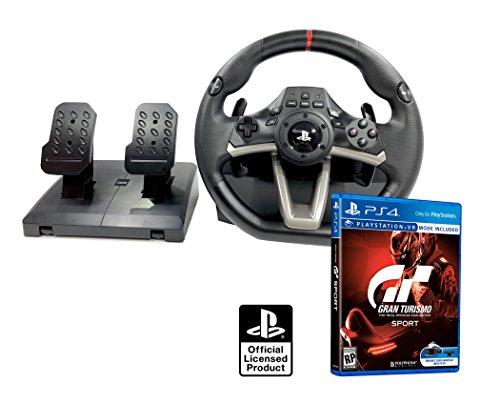 PS4 Lenkrad und Pedale Orig. Licensed PlayStation 4 RWA Apex + Gran Turismo Sport