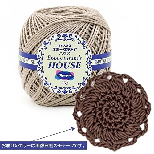 オリムパス レース糸(太番手) エミーグランデ(ハウス) 25g玉巻 3玉セット H18