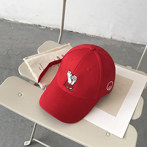 XBR - casquette de baseball, pac, Children's Long Ruban, Duck pac Pays Fashion, la personnalité, la Broderie, Casquette de Base - Ball, à la Mode Hip - hop Hat Man,de Gueules