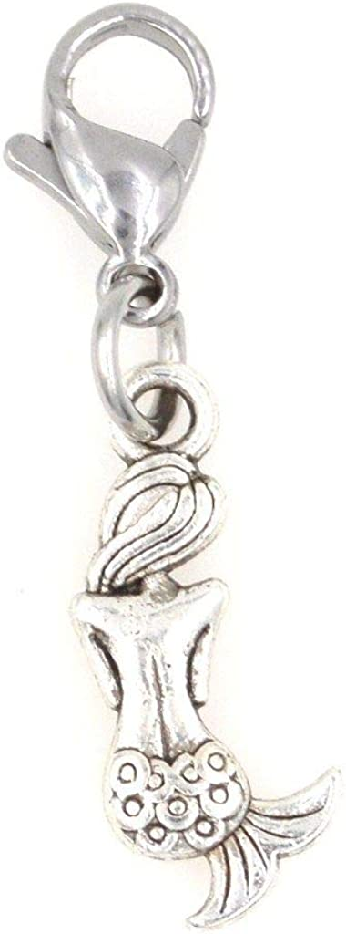It's All About...You Mini Mermaid Max 70% OFF Clip Charm on Perfect Jacksonville Mall Nec for