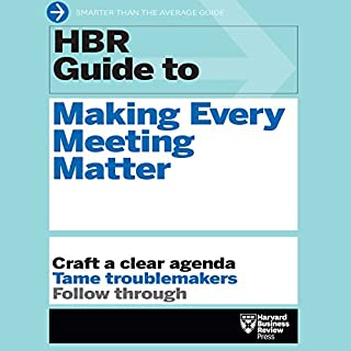 HBR Guide to Making Every Meeting Matter cover art