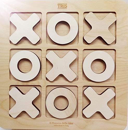 Il Pianeta delle Idee Tris Grande in legno