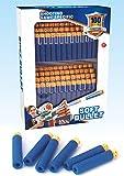 100 x Dartblaster Darts Schaumstoff Pfeile für Blastergewehr