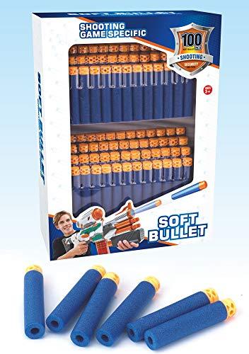 100 dardos de espuma para armas
