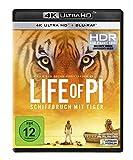 Abbildung Life of Pi - Schiffbruch mit Tiger  (4K Ultra HD) (+ Blu-ray)