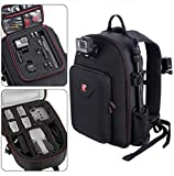Smatree Mochila Compatible con dji Mavic Air 2 Drone/GoPro Hero 7/6/5/5 Session/Hero Session, Apto para el Controlador dji Remoter