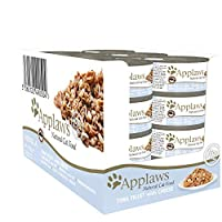 75% Tuna fillet. High meat content, rich in natural taurine, promotes the development of lean muscle tissue. Additive and preservative free complementary cat food with no added sugar, promoting a healthy weight. Natural source of taurine essential fo...