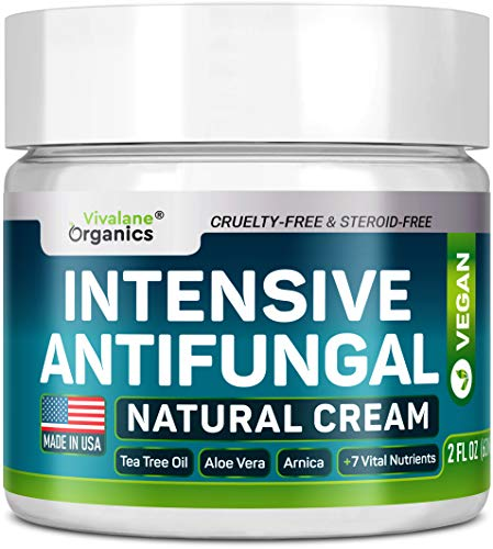 Antifungal Cream - Extra Strength - Made in USA - Effective Toenail Fungus Treatment and Ringworm...