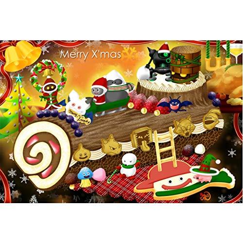 Puzzels 1000 Stuks, Cartoon Kerst, Houten Puzzel Familie Decoratie Kinderen Decompressie Speelgoed Vakantie Geschenken -5.7