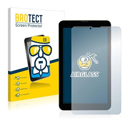 pellicola tablet 7 pollici brotect Pellicola Protettiva Vetro Compatibile con Mediacom SmartPad Go 7 M-SP7AGO3G Schermo Protezione Durezza 9H