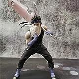 Anime Figure Naruto Momochi Zabuza Shippuden Toy PVC Sword Zabuza Kirigakure no Kijin Model Doll Action Figural