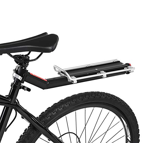 sjlerst Removable Bicycle Accessory Aluminum Alloy Bike Carrier, Durable Bicycle Shelf, for Road Bike Mountain Bike Cycling Equipment Most Bike
