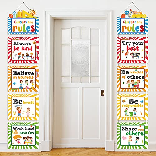 Crtiin Classroom Rules Posters Classroom Decorations Banner Bulletin...