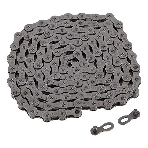 Wallfire Speed Bike Chain, Universal 9/27 Speed Bicycle Chain Magic Buckle for Cycling Mountain Road