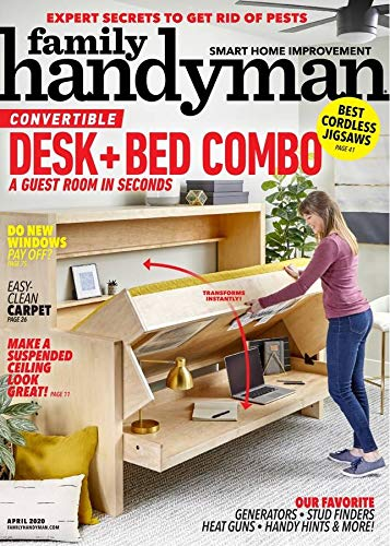 Family Handyman Print Magazine – $5 (85% Off)