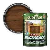 Cuprinol - 5L Ducksback 5 Año Impermeable Para Cobertizos Y Vallas - Cosecha De Brown