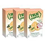 True Grapefruit Unsweetened Crystallized Grapefruit Packets 32 Count Box (Pack of 3) Non-GMO 0 Calories, 0 Sugar For water, beverages, and recipes